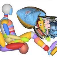 Descubre el nuevo Airbag de rodilla del Ford Mustang