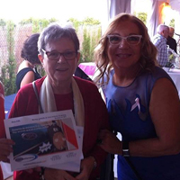Vedat Mediterráneo participa en la rifa solidaria de la AECC de Catarroja