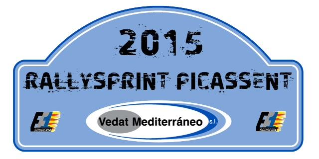 El III Rallysprint Villa de Picassent-Trofeo Vedat Mediterráneo, el 25 de julio
