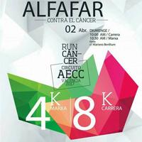 Éxito de participación y de recaudación en la III Carrera Solidaria Contra el Cáncer de Alfafar