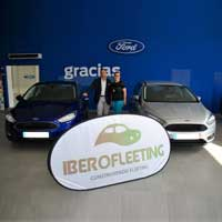IBEROFLEETING entrega más de 30 modelos de Ford gracias a Vedat Mediterráneo