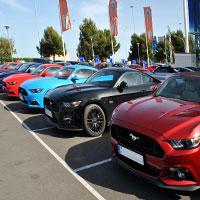 En Vedat Mediterráneo celebramos una concentración de Ford Mustang en nuestra FordStore de Catarroja.